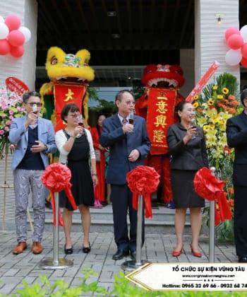 Công ty tổ chức lễ khai trương tại Vũng Tàu